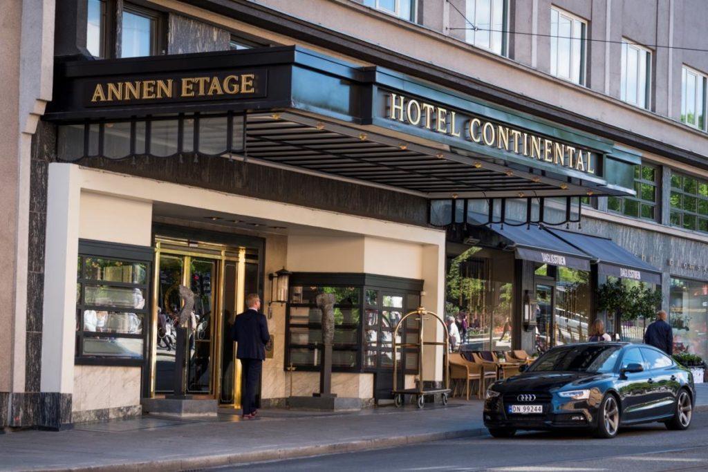 """Отель """"Hotel Continental"""" в Осло"""