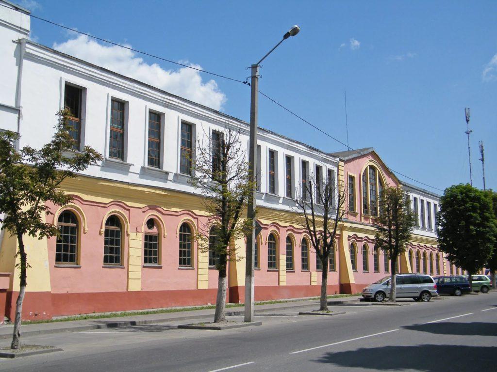 Спичечная фабрика Пинска