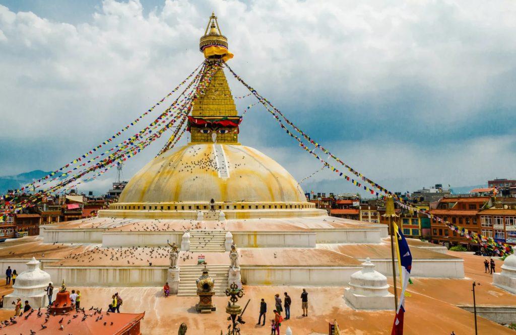 """""""Боднатх"""" в Катманду"""