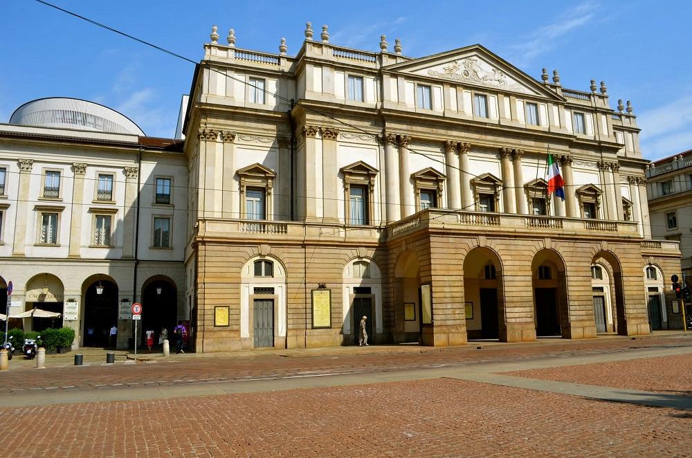 """Опера """"Ла Скала"""" в Милане"""