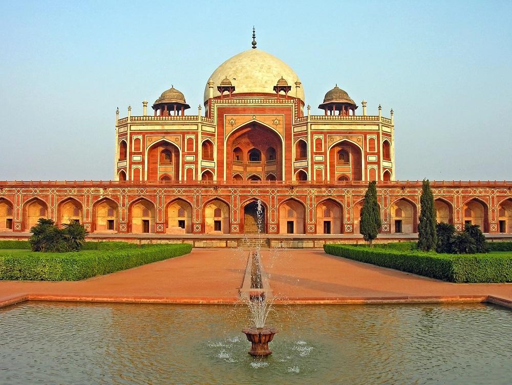 Гробница Хумаюна в Нью-Дели