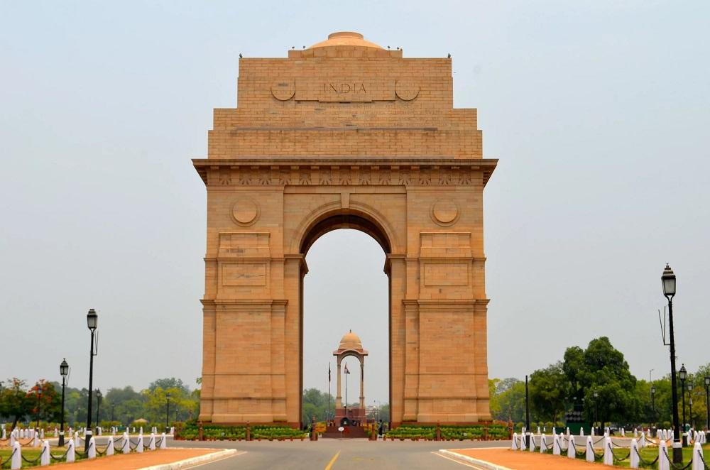 Ворота Индии в Нью-Дели