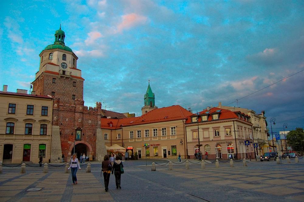 Краковские ворота в Люблине