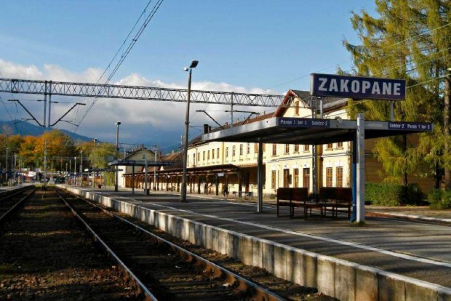 Железнодорожная станция Закопане