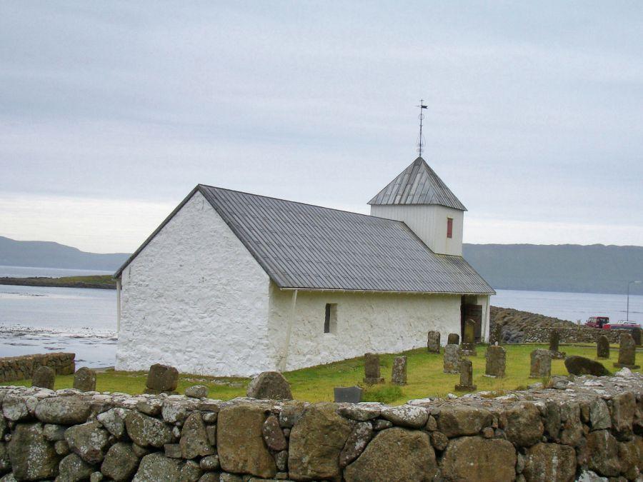 Церковь Святого Олафа на острове Стрёме