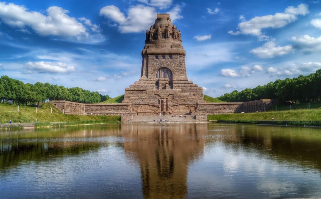 """Монумент """"Битва народов"""" в Лейпциге"""
