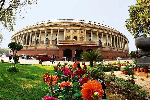 Здание парламента в Нью-Дели