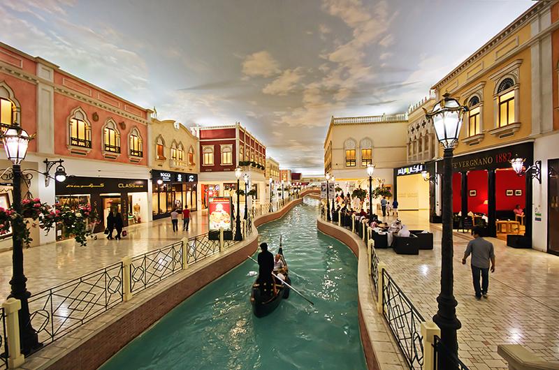 Торговый дом «Вилладжио молл» в Дохе