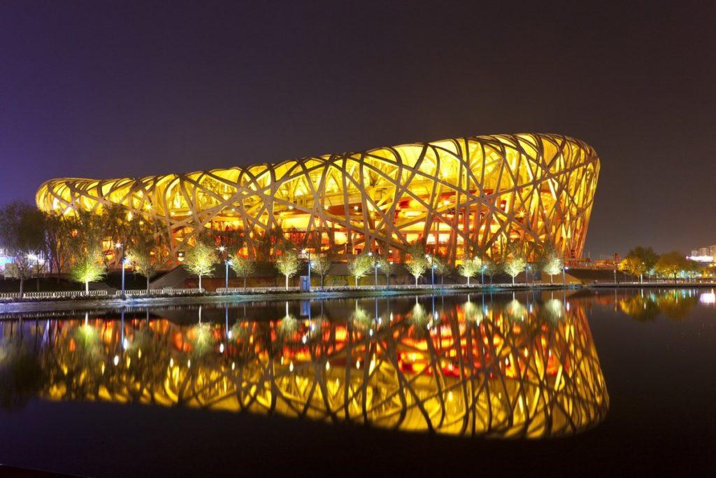 Олимпийский стадион Пекина