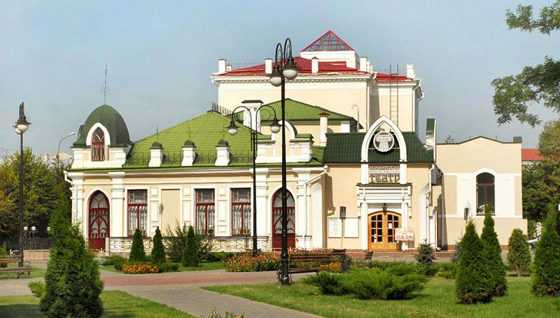 Полесский драмтеатр в Пинске