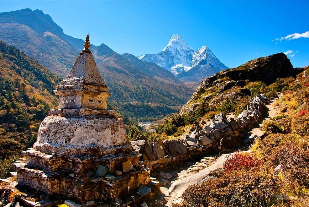 Национальный парк Сагарматха близ Катманду, Непал