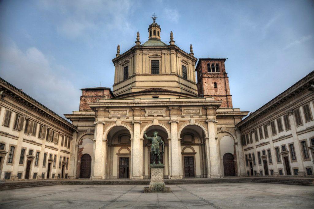 Базилика Сан-Лоренцо-Маджоре в Милане