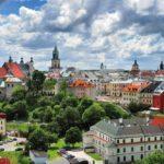 Город Люблин в Польше