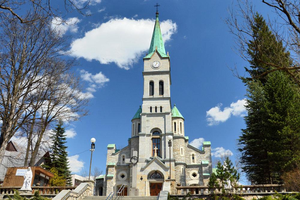 Костел Святого семейства в Закопане