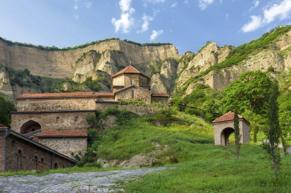 Мужской монастырь Шио-Мгвиме в Мцхете