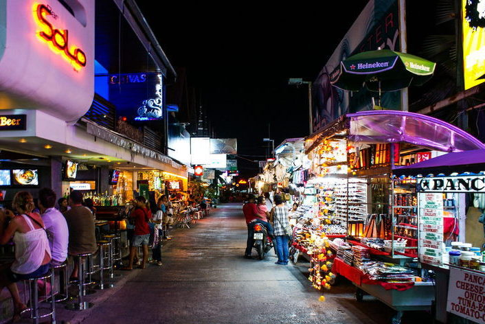 Ночной рынок Самуи