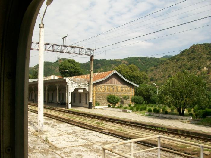 Железнодорожный вокзал Мцхеты