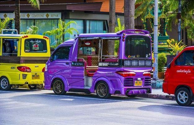 Общественный транспорт Пхукета
