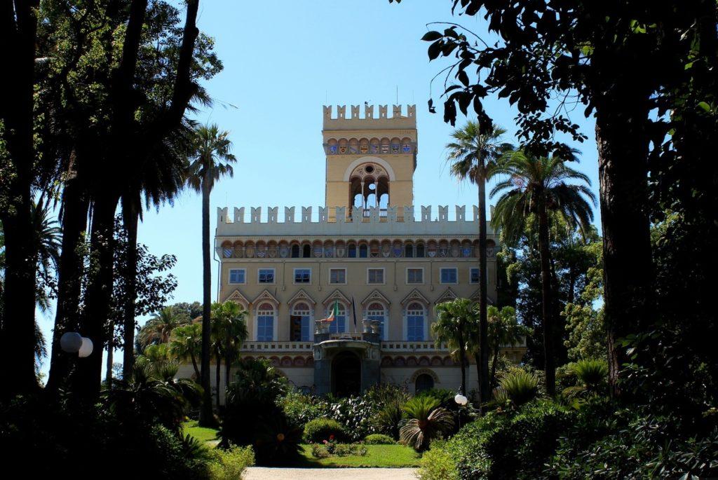 Вилла Негротто Камбьязо в Аренцано, близ Генуи