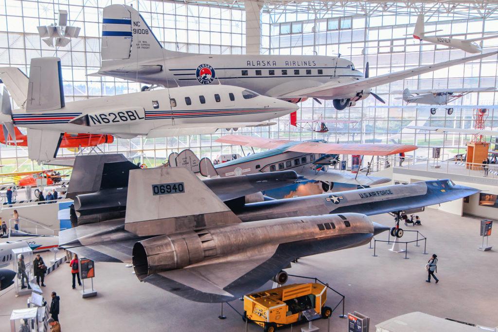 Музей авиации в г. Таквила (близ Сиэтла)