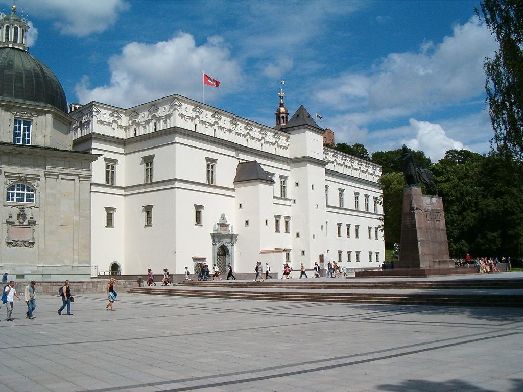 Дворец великих князей литовских в Вильнюсе