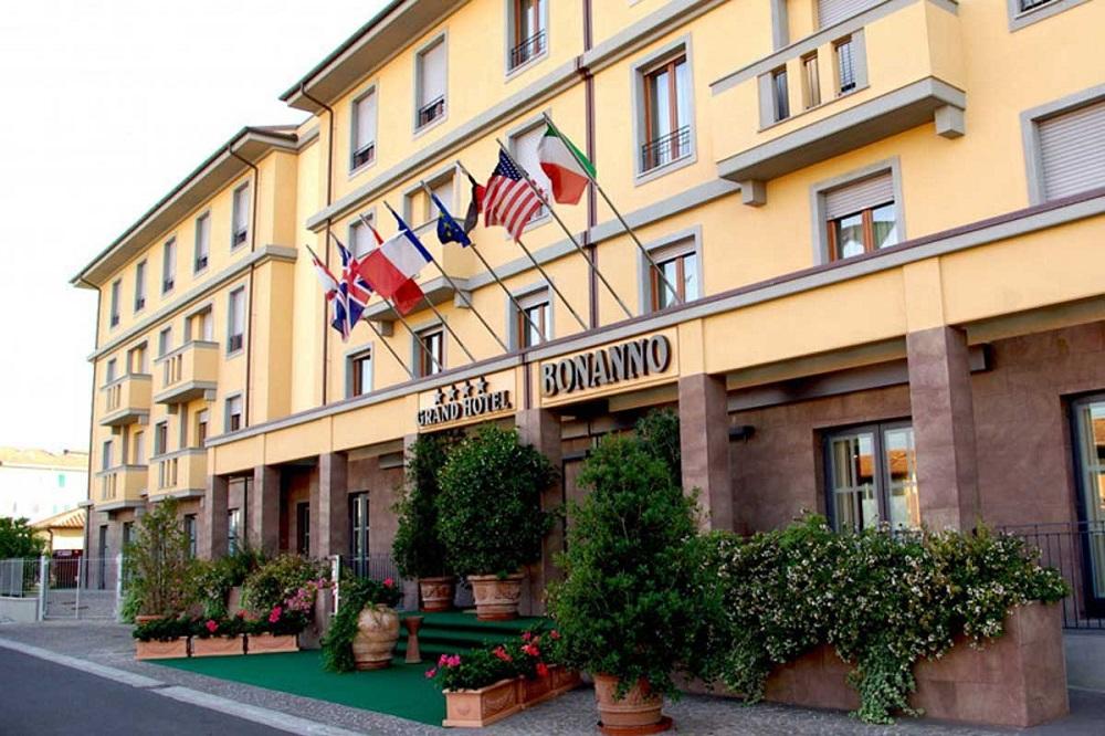 """4* отель """"Grand Hotel Bonanno"""" в Пизе"""