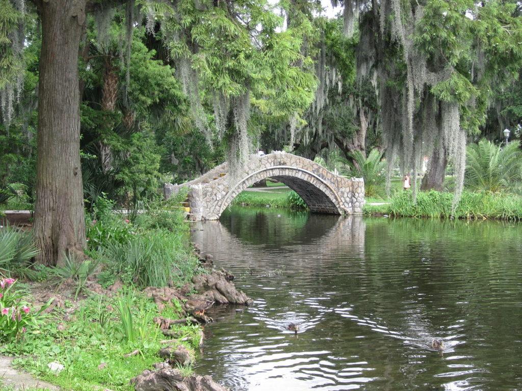 Городской парк Нового Орлеана