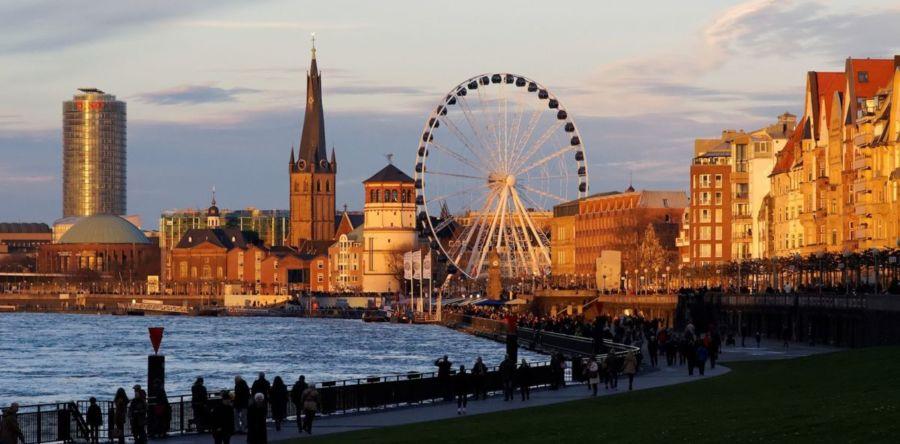 Город гаваней и роскошных парков – немецкий Дюссельдорф