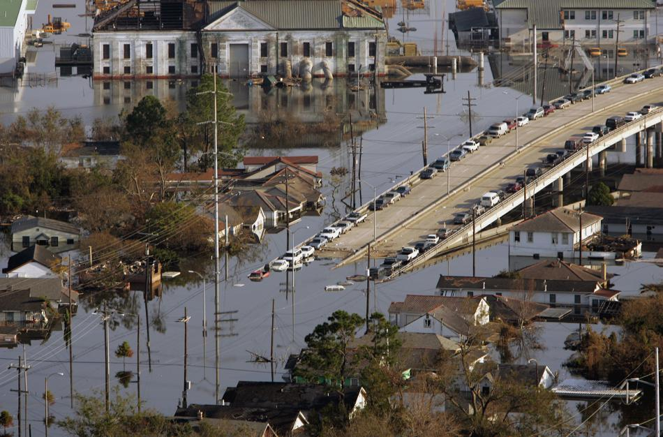 Последствия урагана Катрина в Новом Орлеане