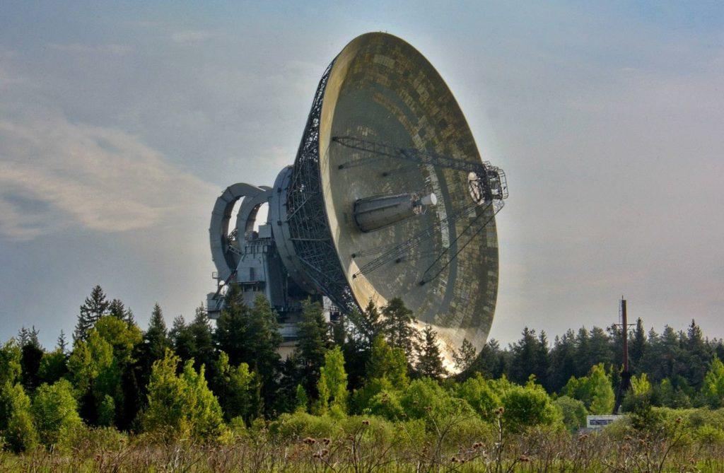 Радиоастрономическая обсерватория в Калязине