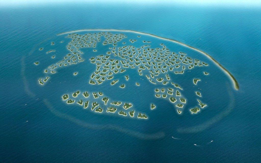 """Островной комплекс """"The world"""" в Дубае"""