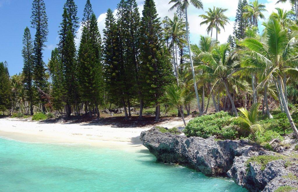 Остров Маре в Новой Каледонии