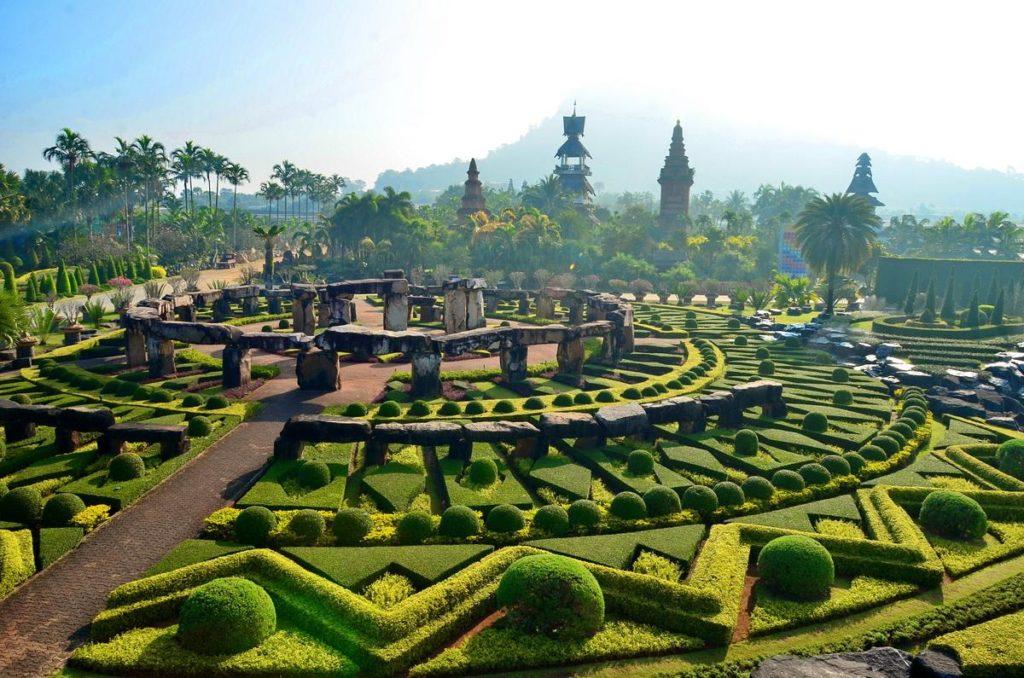 Ботанический сад королевы Сирикит близ Чиангмая, Тайланд