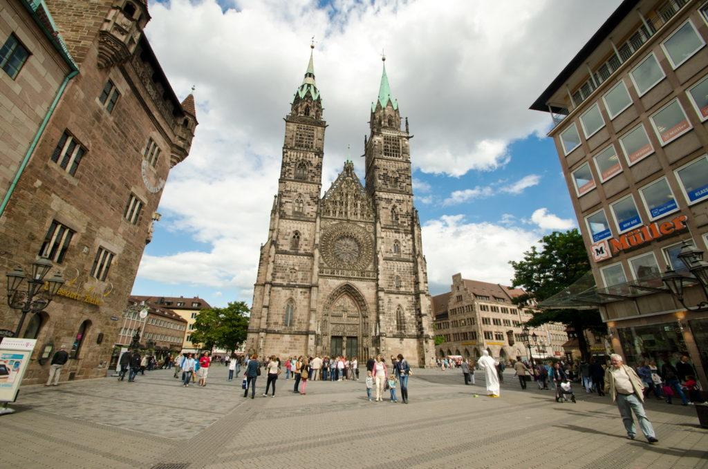 Лютеранская церковь Св. Лаврентия в Нюрнберге
