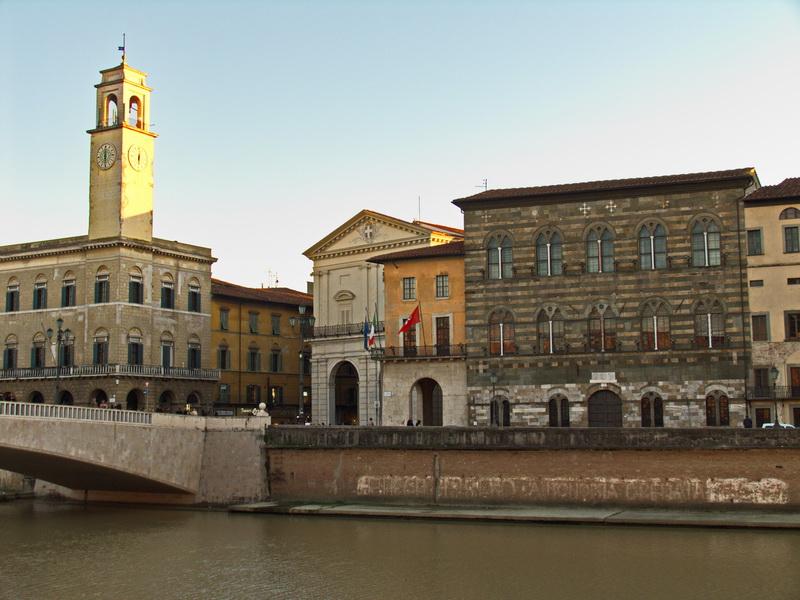 Дворец Гамбакорти в Пизе