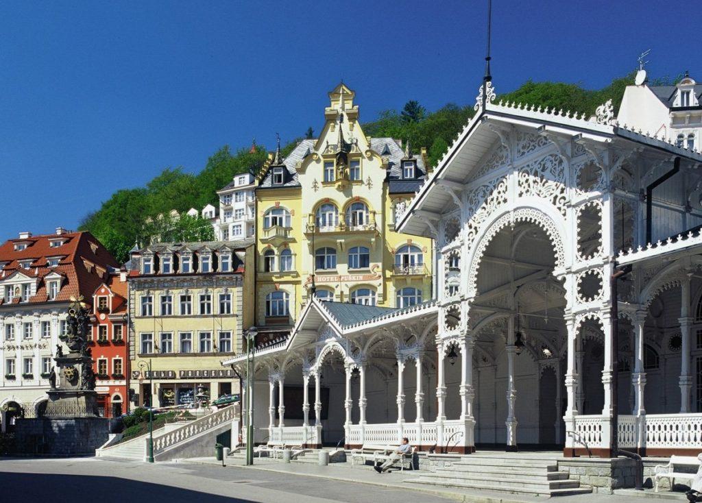 Рыночная колоннада, Карловы Вары
