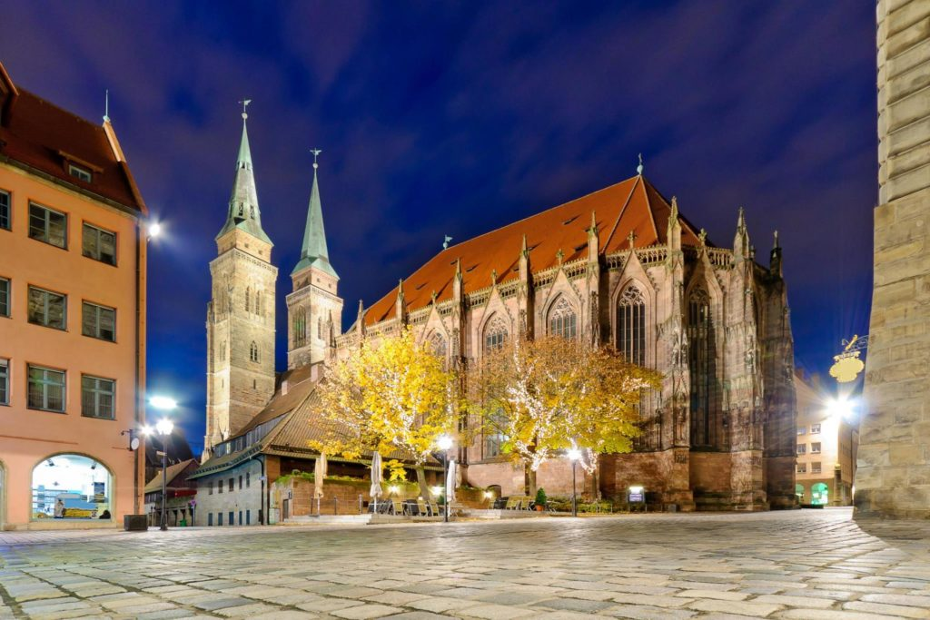 Лютеранская церковь Святого Себальда (Себальдускирхе), Нюрнберг