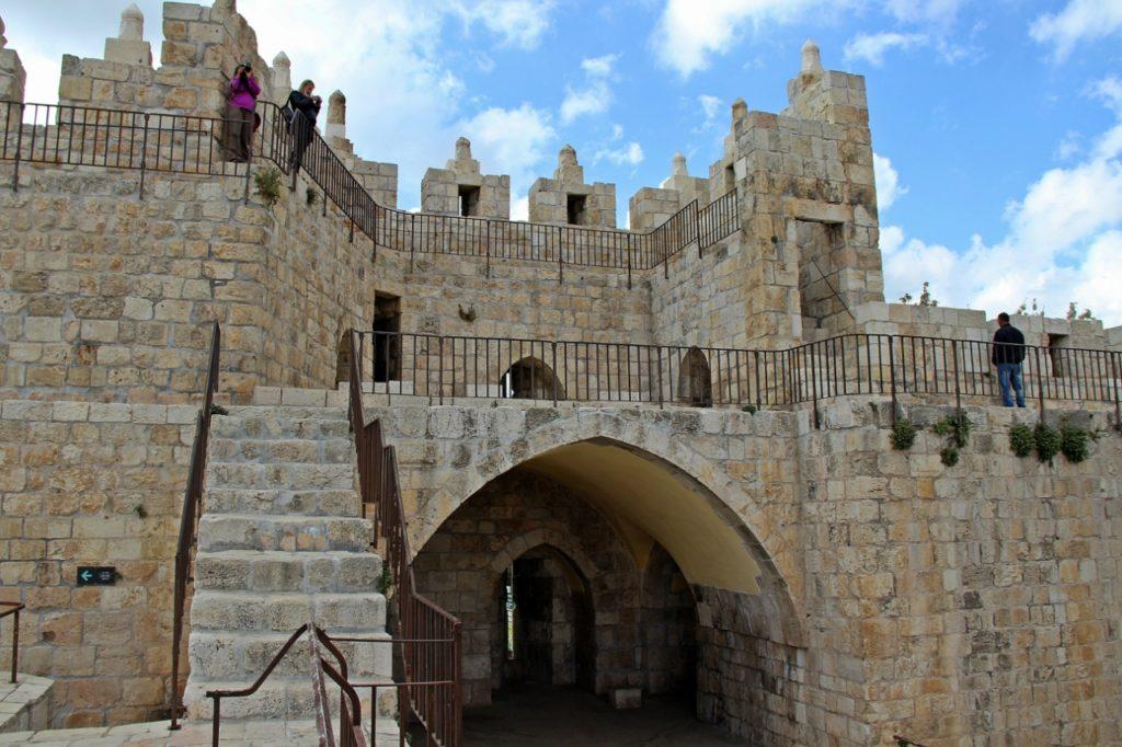 Дамасские ворота в Иерусалиме