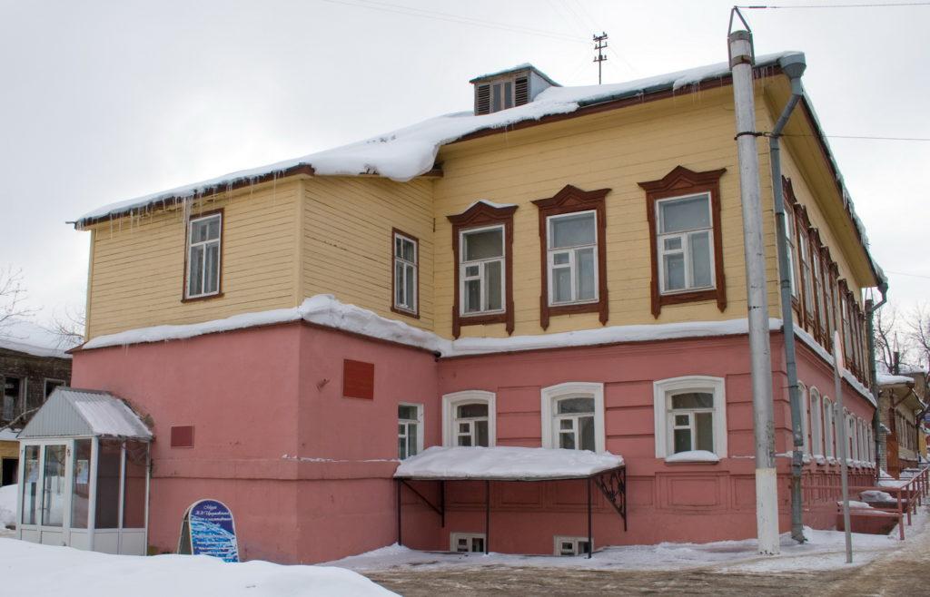 Дом-музей К.Э. Циолковского в г. Киров
