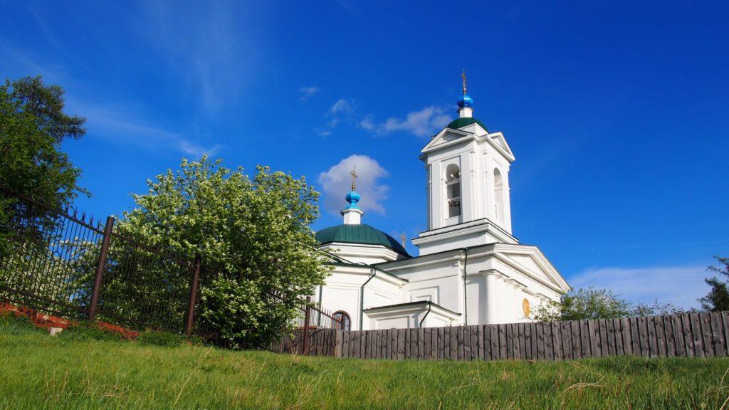 Входо-Иерусалимская церковь в г. Иркутск