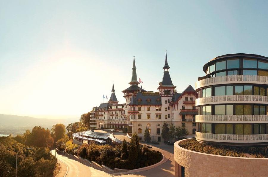 """Отель """"The Dolder Grand"""" в Цюрихе"""