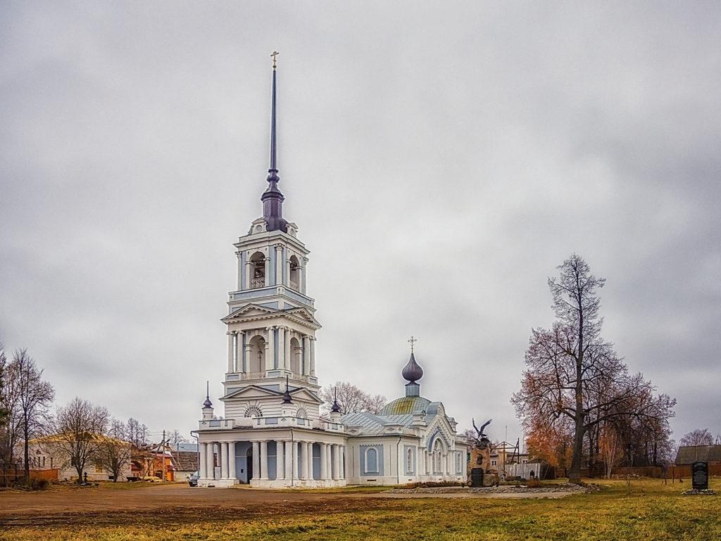 Церковь Вознесения Господня в Калязине