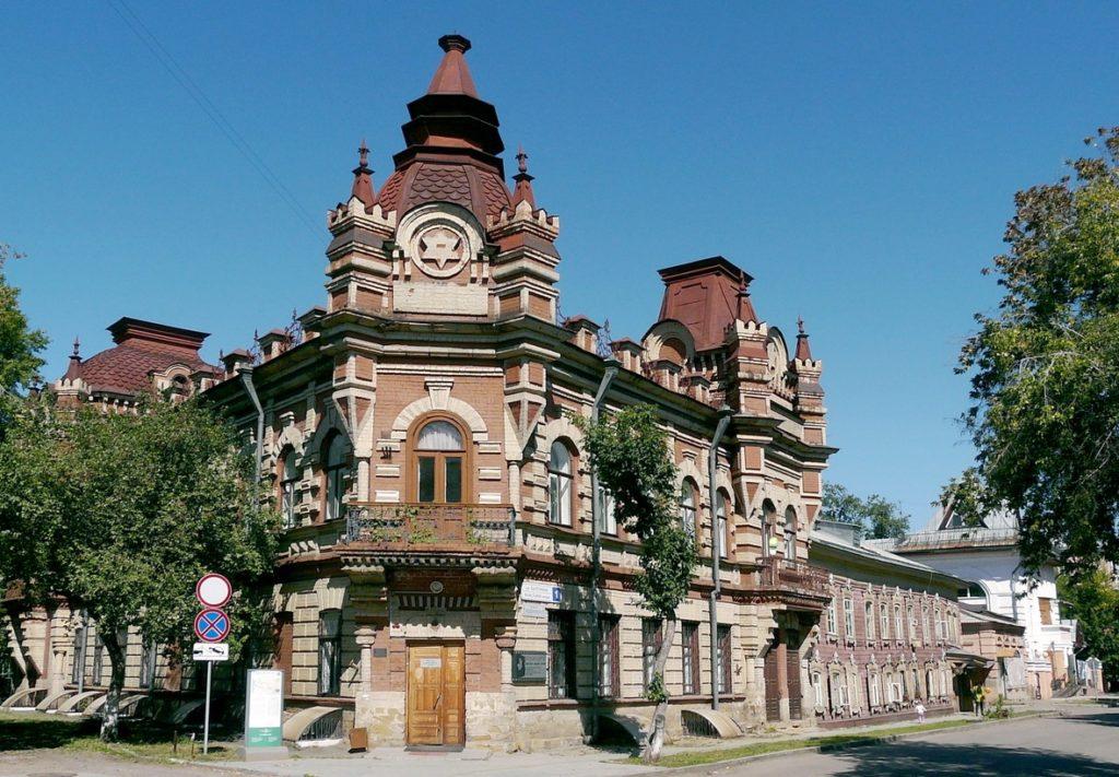 Дом Файнберга в Иркутске
