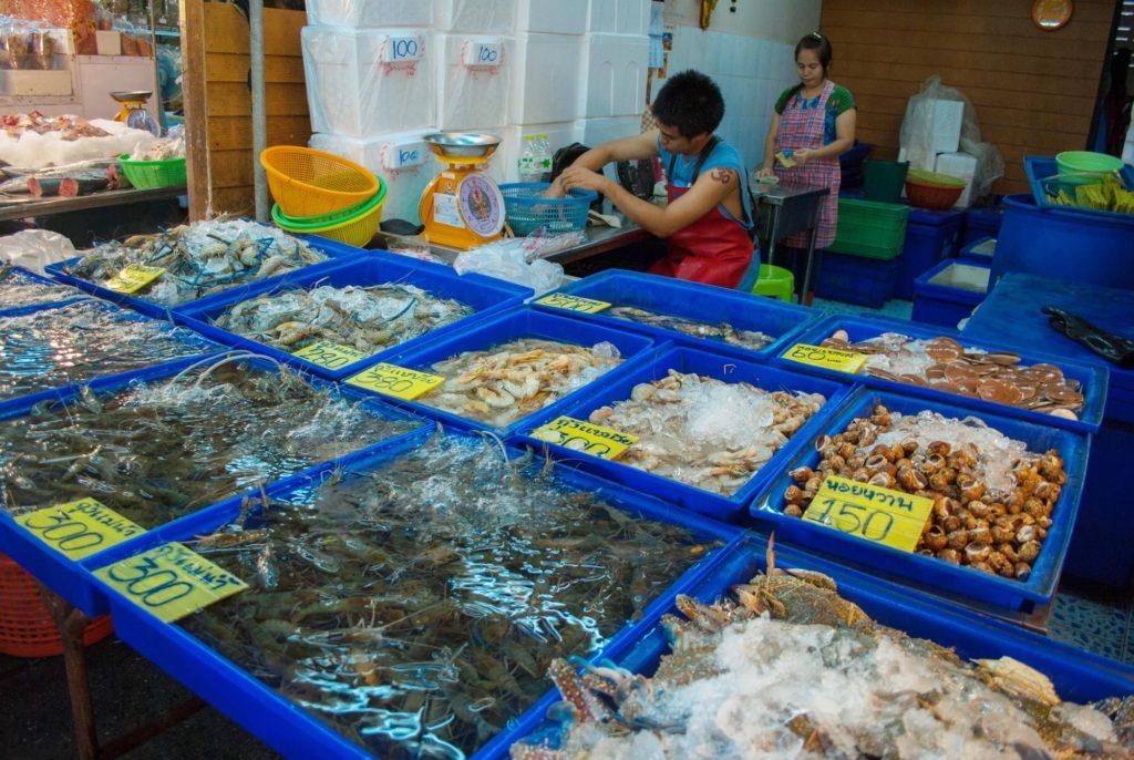 Рыбный рынок Паттайи
