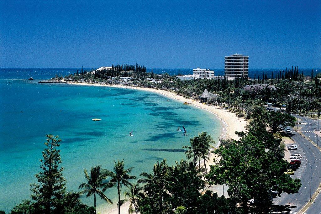 Пляж Энс-Вата в Новой Каледонии