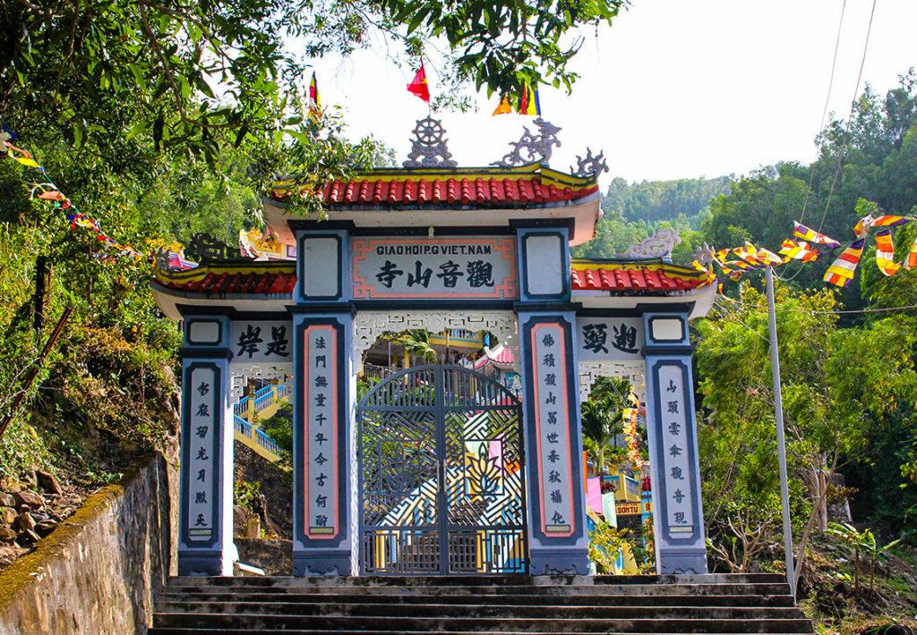 Храм Чуа Суи До близ Нячанга