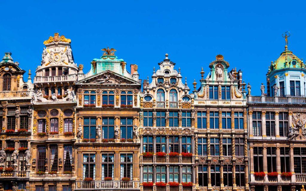 Дома гильдий в Брюсселе