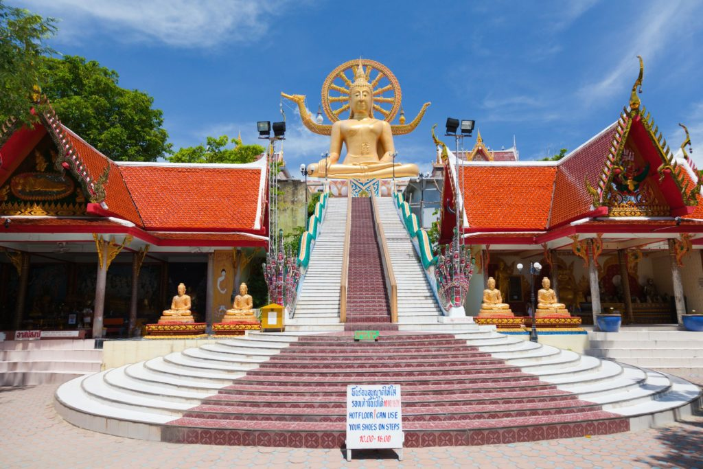 Статуя Будды на Самуи