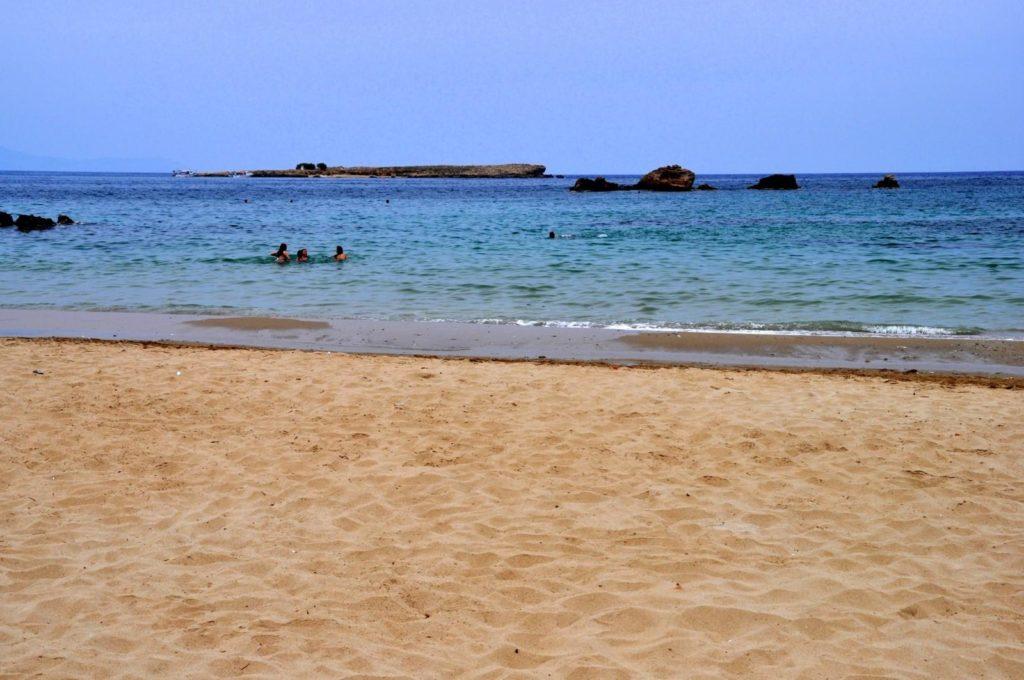 Пляж Неа Хора в Ханье