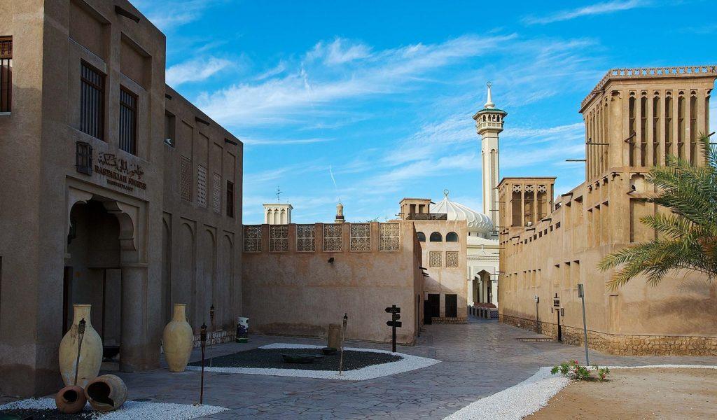 Район Бастакия в Дубае
